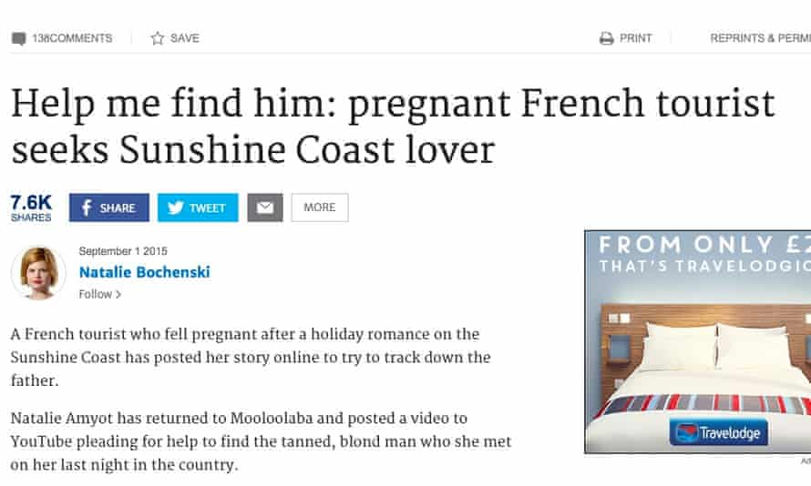 The Brisbane Times's fake story