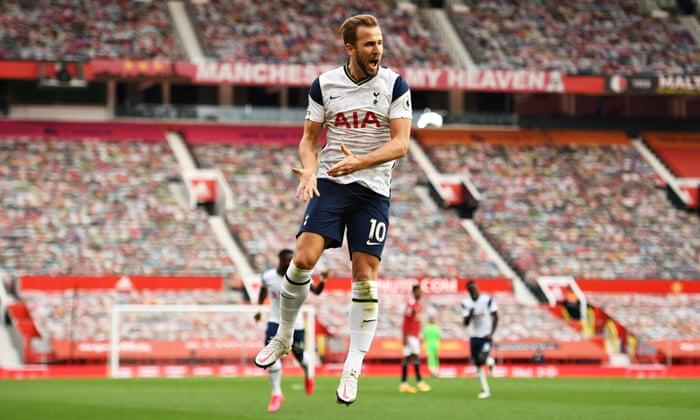 Harry Kane stars in Tottenham's 6-1 thrashing of hapless Manchester United  | Premier League | The Guardian