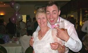 Sally Hodkin with her son Len Hodkin