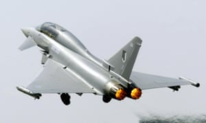 Typhoon jets have been sold to Saudi Arabia by BAE Systems, which also sponsors UCL.