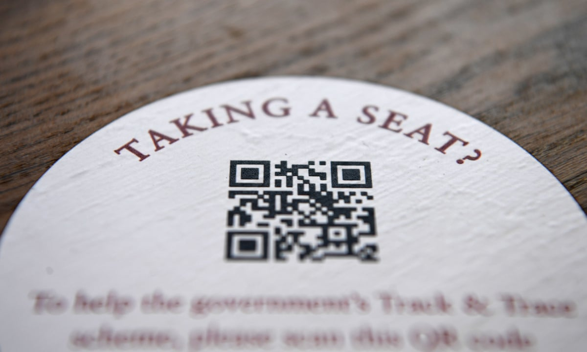 QR codes: how an old technology could help contact tracers keep the  pandemic in check | Coronavirus | The Guardian