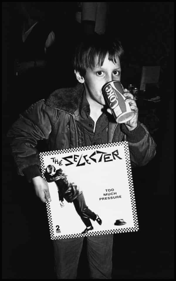 A boy in Coventry, 1980. From the 2 Tone: Lives & Legacies exhibition.