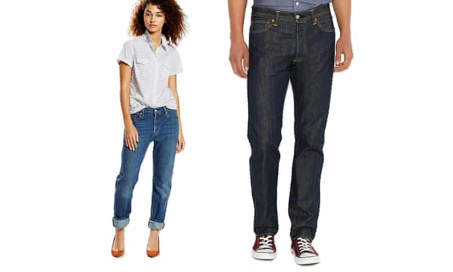 Women have long worn men's 501s. Levi's original version starts at £75 for men in a mid-blue wash, and £85 for women.