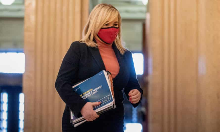 Northern Ireland deputy first minister Michelle O'Neill at Stormont
