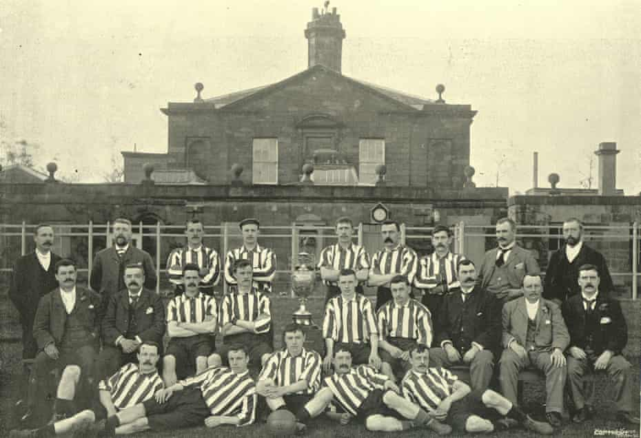 Sunderland's league champions of the 1894-1895 season, who would go on to defeat Scottish champions Hearts 5-3 in a one-off match.