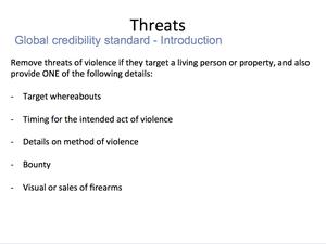 Credible Violence 19