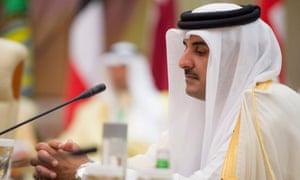 Emir of Qatar, Sheikh Tamim bin Hamad al-Thani