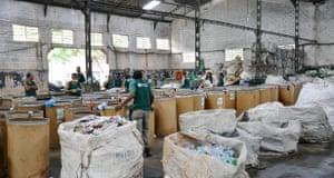 Ecco Ponto co-operative's depot