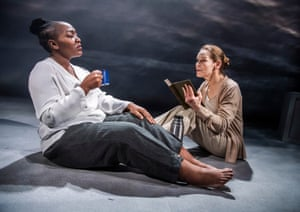 Jangling anxiety … Nobuhle Mngcwengi and Alice Krige in Persona.