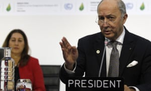 French Foreign affairs minister and acting president of the COP21, Laurent Fabius, said he was confident a deal would be done on Friday.