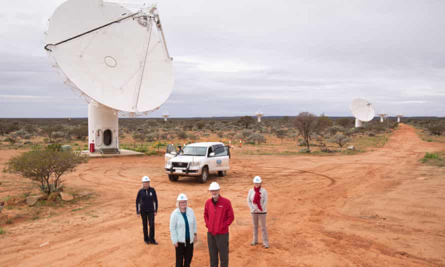 The Murchison radio-astronomy observatory in Western Australia. The observatory is to become home to the low-frequency end of the Square Kilometre Array radio telescope – the other half will be in South Africa.