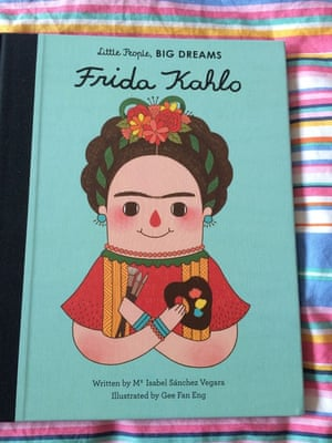 Little People, Big Dreams: Frida KahloIsabel Sanchez VegaraReviewed by Damyanti and Freya (5) I loved how this book celebrated Frida's strength & determination and I was pleased to be able to introduce Freya to such an inspiring character. I also liked the illustrations and how many of the spreads included depictions of Frida's art. A stylish book which not only introduced Freya to some beautiful art but as a neatly packaged biography of Frida Kahlo she also discovered more about the artist too. A great stepping stone into non-fiction.