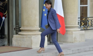 Najat Vallaud-Belkacem, French Minister of National Educationat the Elysee Palace in July.