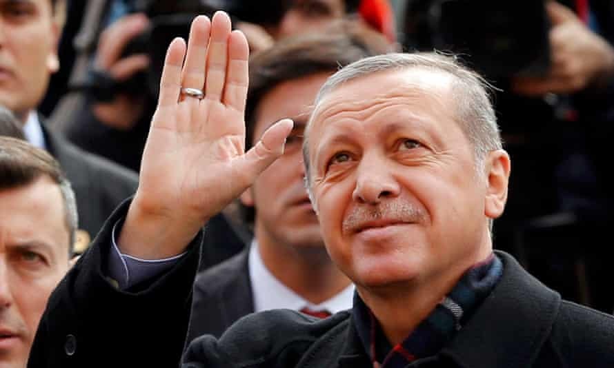 Politics of instinct … Turkish president Recep Tayyip Erdoğan, who won his recent general election on a campaign of fear.