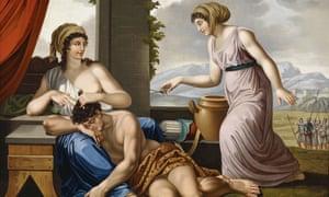 Josef Worlicek's Samson und Delila, painted 1844