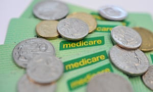Medicare healthcare cards and coins