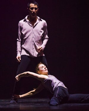 Peter Chu and Anne Plamondon in A Picture of You Falling by Crystal Pite.