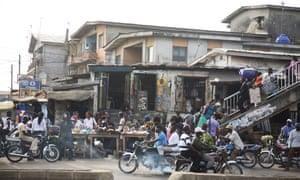 street in Nigeria