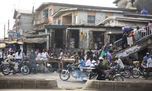 Lagos street scene