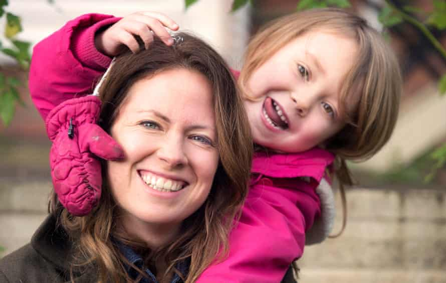 Nicola Skinner with her daughter Polly