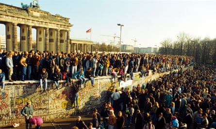 The fall of the Berlin Wall, November 1989