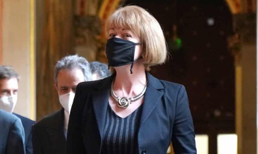 The Foreign Office minister Wendy Morton