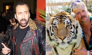 Nicolas Cage will play the 'Tiger King' in a drama miniseries.