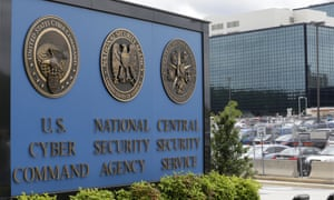 Kampus National Security Agency (NSA) di Fort Meade, Maryland