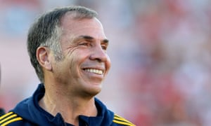 Bruce Arena: back for his second spell as national team coach.