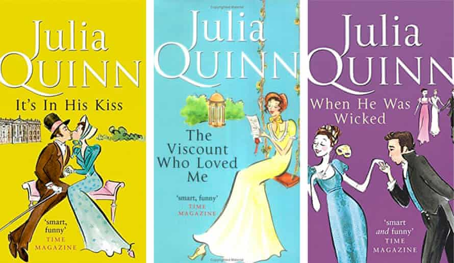 Deliciously titled … some of Quinn's bestsellers.