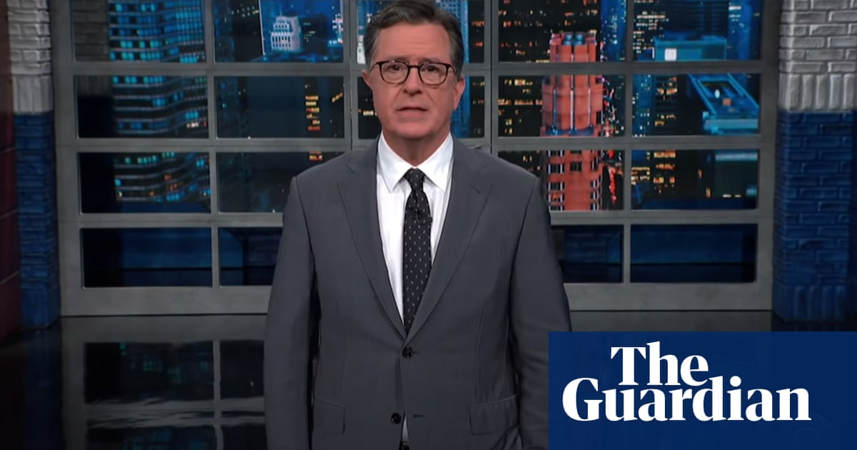 Colbert says new Superman motto got people angry – 'it's the American way'