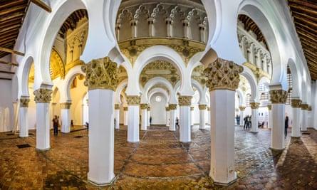 Santa María La Blanca in Toledo, Spain.