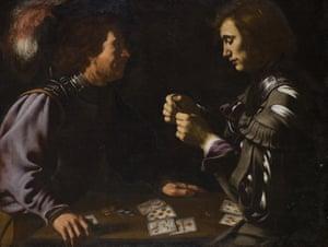 Card Players by Antiveduto Grammatica (c1620).