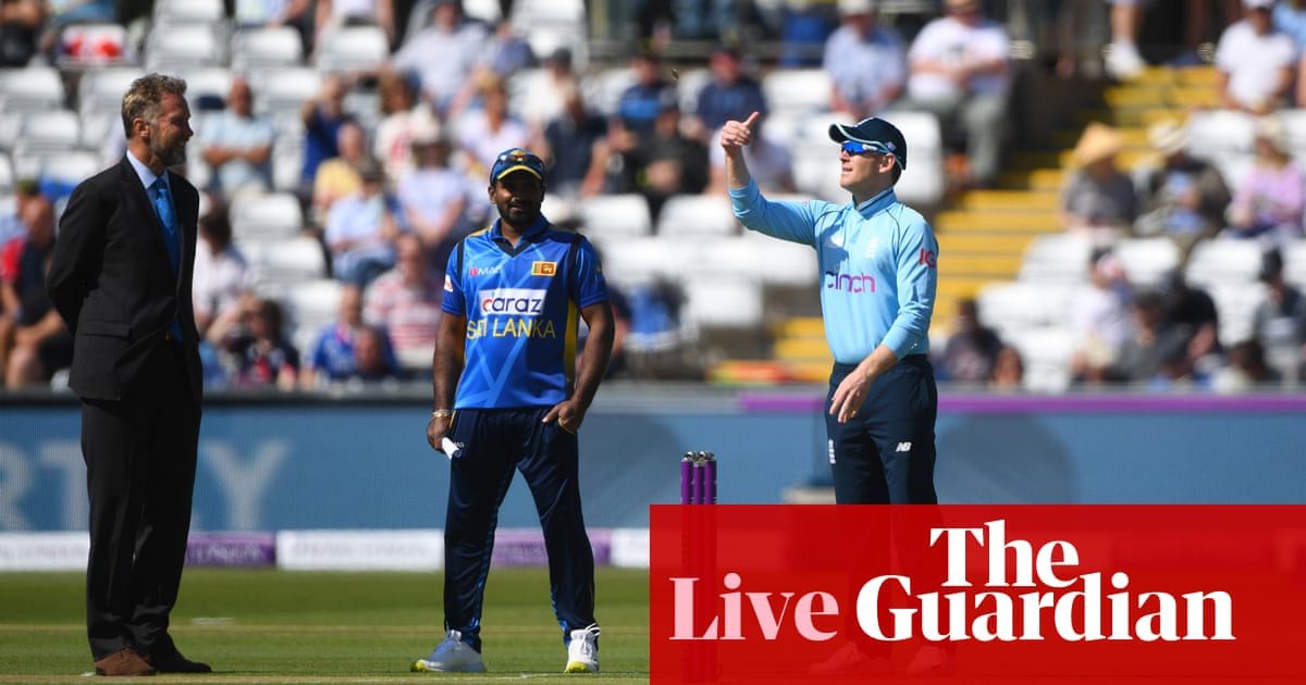 England v Sri Lanka: first ODI – live!