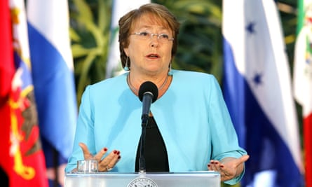 President Michelle Bachelet: 'Chileans demand, deserve equal opportunities and rights, and this includes equality before the law.'