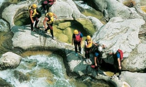 Canyoning with Explore.