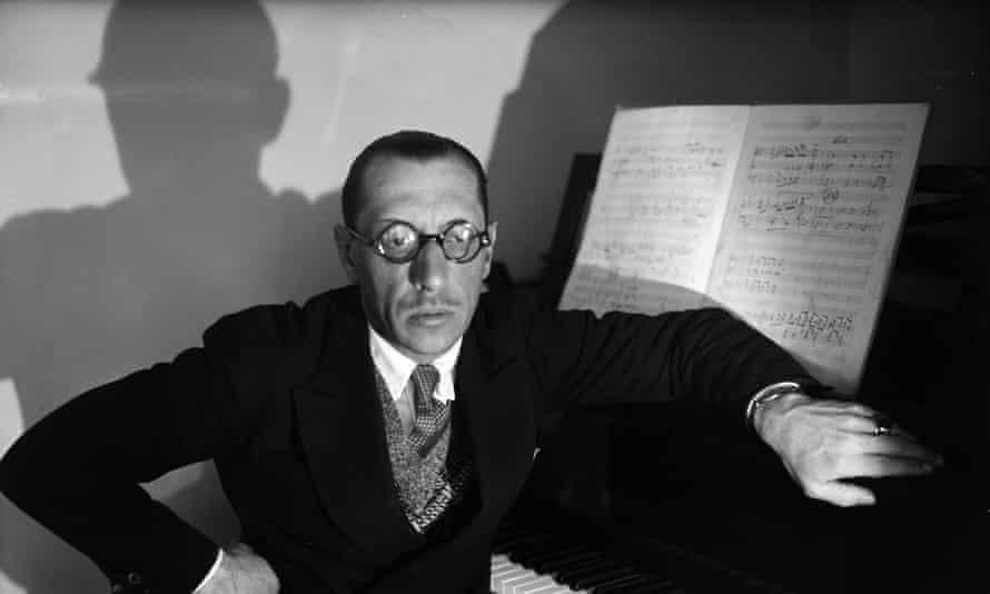 Igor Stravinsky. Paris, 1929.