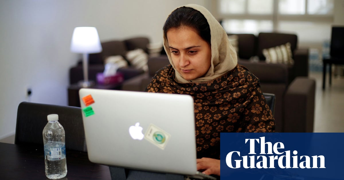 Female TV anchor who interviewed Taliban flees Afghanistan