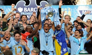 After a torturous final day for Kompany, City's captain finally got his hands on the Premier League title in 2012.