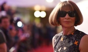 'Own your decisions' … Anna Wintour.