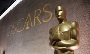 Giant Oscar statuette at the 2016 awards