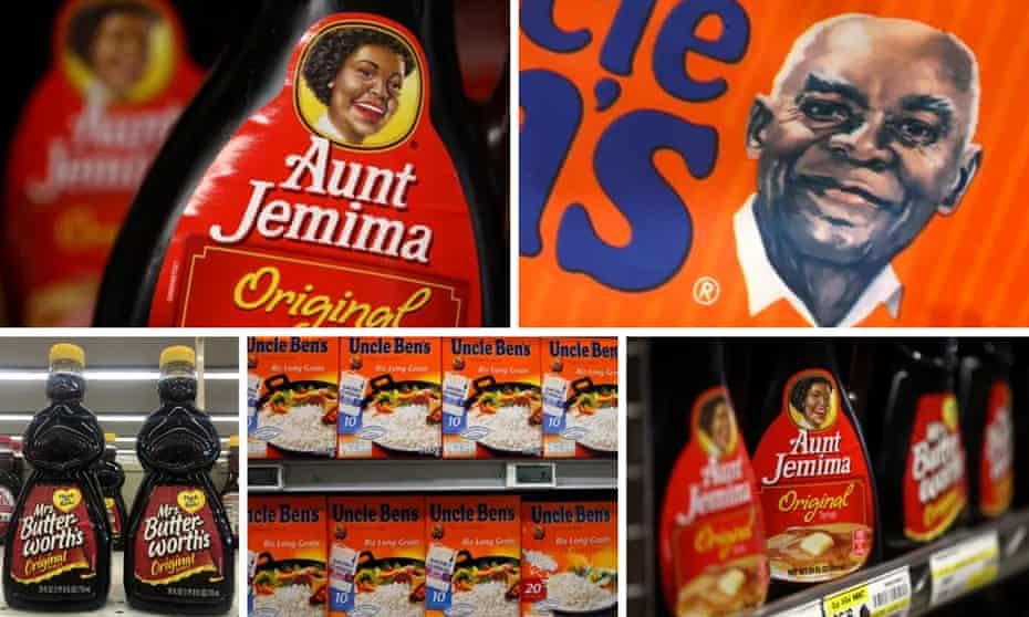 aunt jemima, uncle ben's, mrs. butterworth's products
