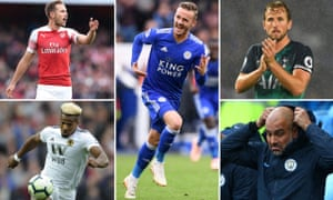 PL Talking Points COMP Aaron Ramsey, James Maddison, Harry Kane, Pep Guardiola and Adama Traoré.