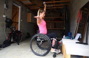 Sophie Carrigill believes more needs to be done to help disabled people benefit from physical activity during the pandemic