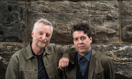 'When you conjure a train in a song, it speaks to something other' … Billy Bragg and Joe Henry