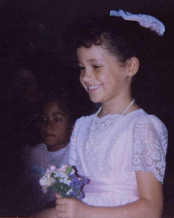 Markle at her aunt's wedding.