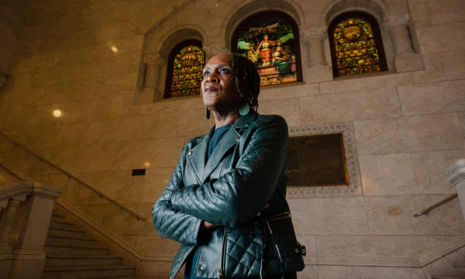 Andrea Jenkins at City Hall in downtown Minneapolis