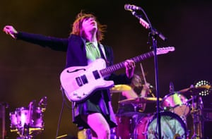 Carrie Brownstein performing at the Sasquatch! festival in George, Washington, May 2015