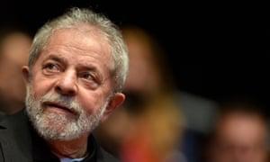 Former Brazil president Luiz Inácio Lula da Silva in August 2015.