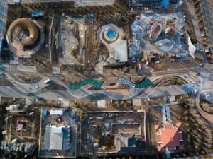 The Beijing horticultural expo from above.